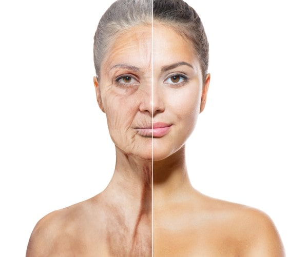 Older vs youthful skin